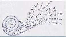 Uranium Zeichnung Füllhorn